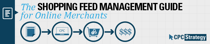 shopping feed management