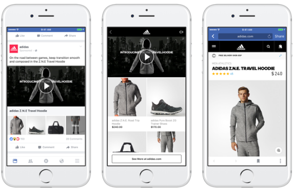 Facebook Collection Ad Type for Retailers